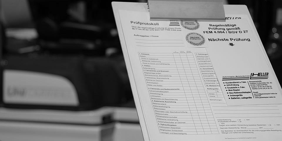Link zur Seite - FEM-Prüfung (UVV)